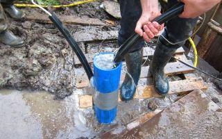 Технология бурения скважин для труб
