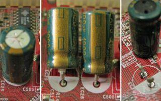 Правила проверки и пайки конденсаторов