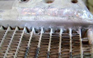 Как запаять автомобильный радиатор