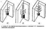 Технология дуговой сварки вертикального стыка трубы