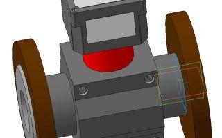 Запорная арматура 3d модели