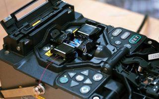 Процесс сварки оптических волокон