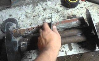 Сделать выхлопную из тонкой трубы