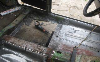Как отремонтировать пороги и днище автомобиля сваркой и без нее