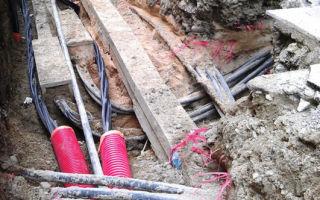 Технология по задувке кабеля в трубы