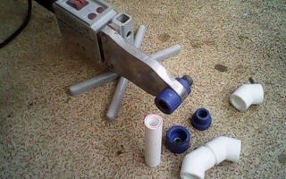 Утюжок для труб какая температура