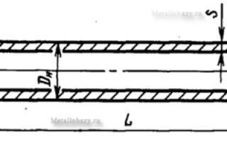 Труба 56х3 вес 1 метра