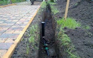 Система полива газона своими руками из пластиковых труб