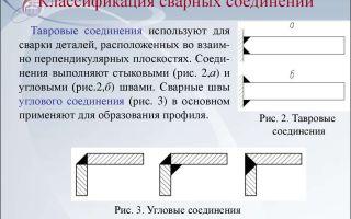 Классификация сварочных соединений