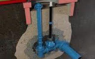Бесколодезная установка запорной арматуры применяется при обосновании