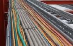 Технология монтажа электропроводок в трубах лотках коробах