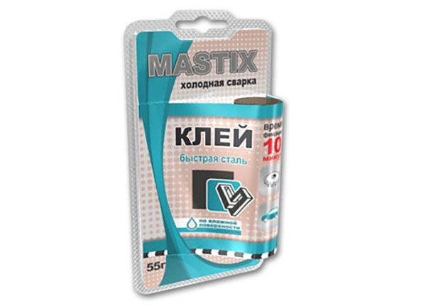 Холодная сварка Mastix инструкция по применению универсального клея использование для батарей и труб отзывы специалистов