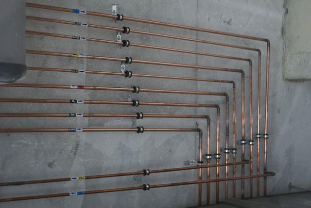 Системы трубопроводов для медицинских газов