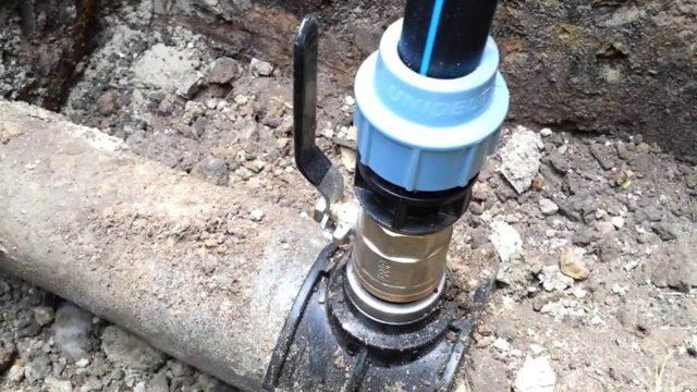 Технология врезки в трубу под давлением