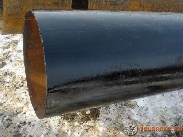 Труба стальная с наружной изоляцией усиленного типа