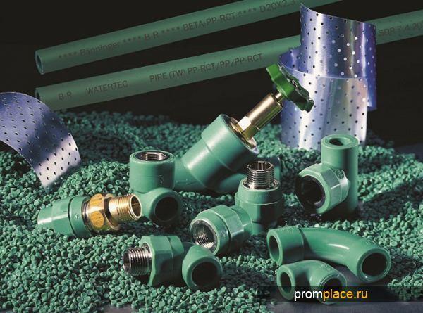 Технология для производства пластиковых труб