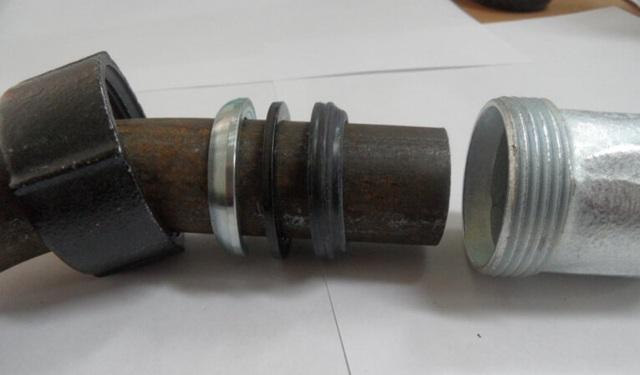 Системы соединения оцинкованных труб