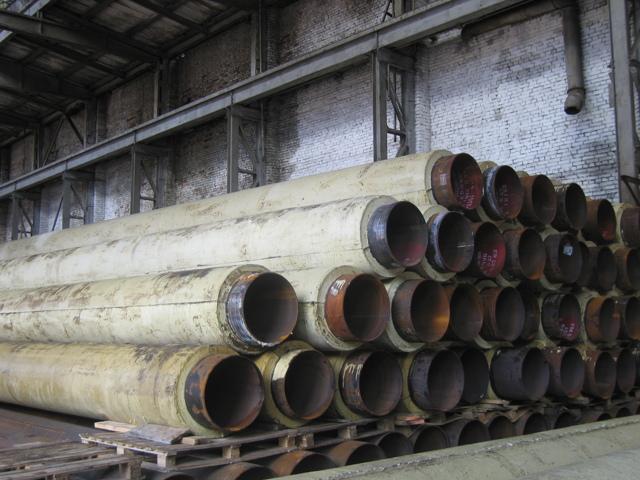 Труба стальная в пенополимерной изоляции