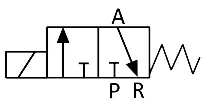 Схематическое изображение запорной арматуры