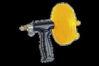 Ручная вертушка с автоподачей для прочистки труб