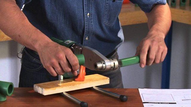 Утюг для сварки полипропиленовых труб насадки