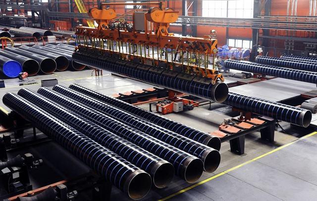 Самое крупный трубный завод