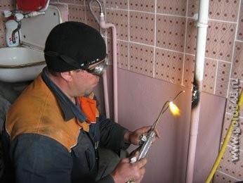 Технология сварки труб газом