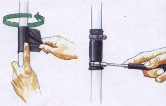 Технология ремонта канализационны труб