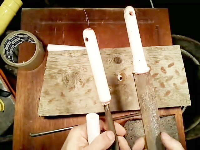 Ручка скоба своими руками из трубы