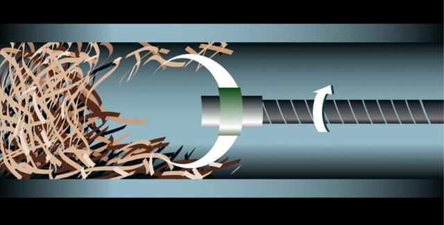Самодельный ершик для чистки труб канализации