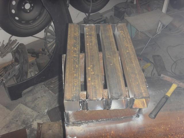 Сделать печку в гараж из 500 трубы