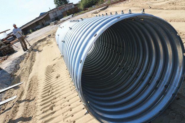 Сборная металлоконструкция из труб