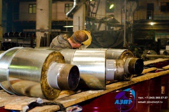 Труба стальная в ппу изоляции в полиэтиленовой оболочке гост 30732 2006