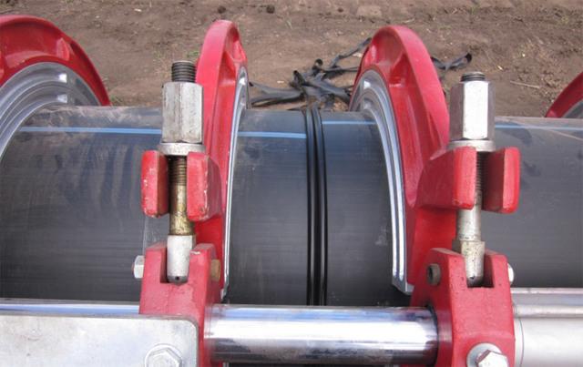 Технология сварки полиэтиленовых труб встык большого диаметра