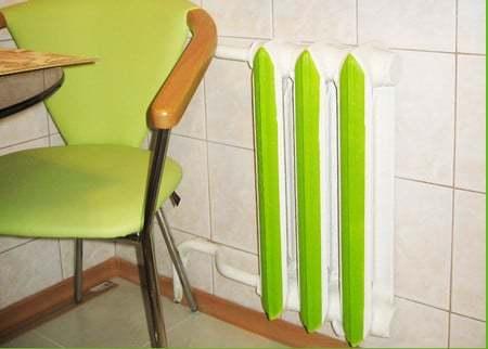 Технология покраски труб отопления