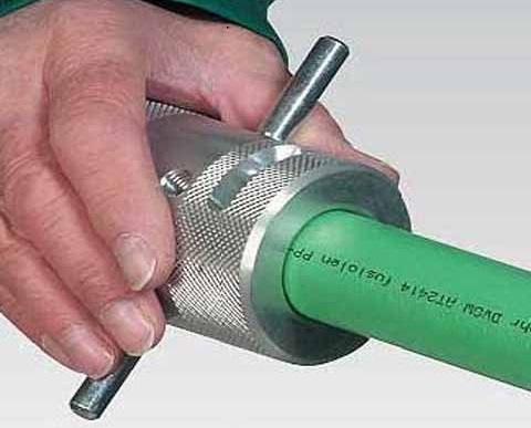 Утюг для склеивания пластиковых труб