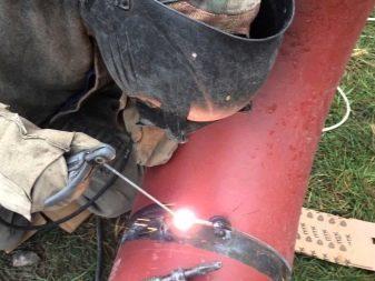 Технология ручной дуговой сварки стыковых соединений труб