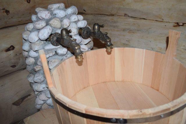 Запорная арматура для бани