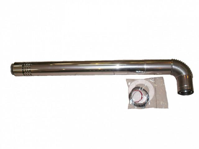 Хомут для коаксиальной трубы
