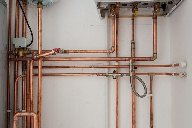 Технология прокладки трубопроводов отопления