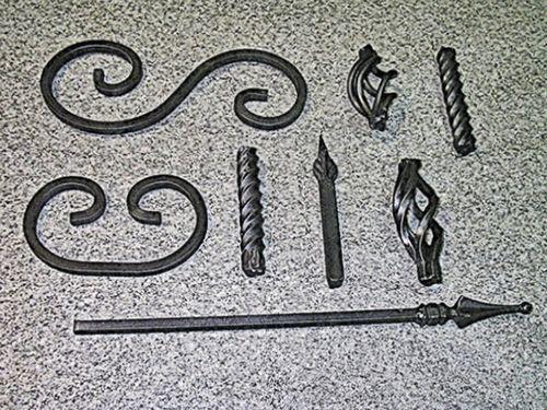 Фактура из трубы ковка