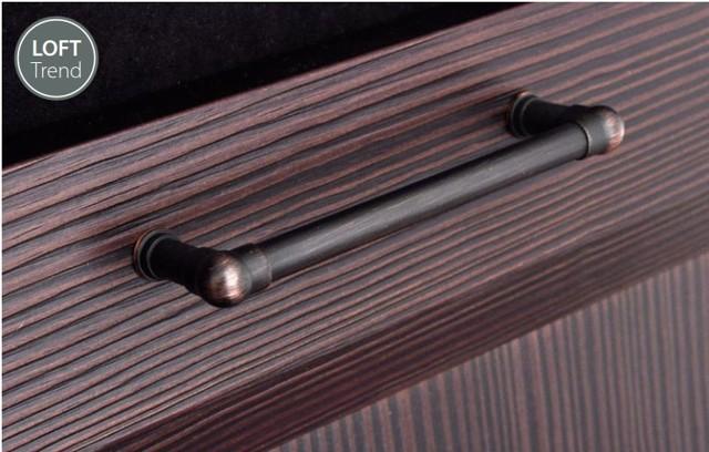 Ручки из труб в стиле лофт