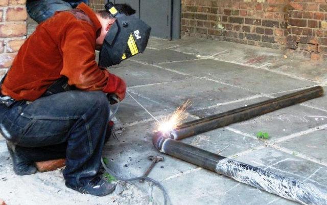 Технология выполнения сварки поворотных стыков труб