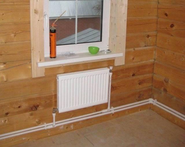 Система отопления частного дома полипропиленовыми трубами одноэтажного дома