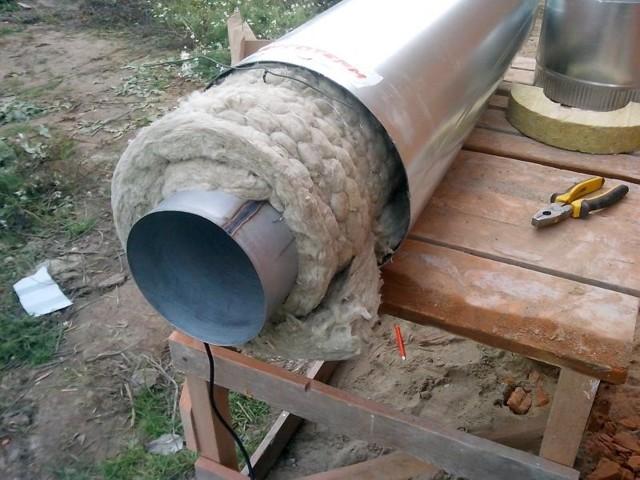 Технология изоляции трубопроводов сталь оцинкованной стали
