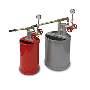 Ручной гидравлический насос для опрессовки трубопроводов