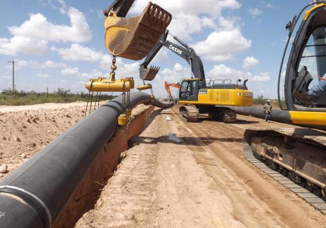 Технология прокладки трубопровода открытым способом