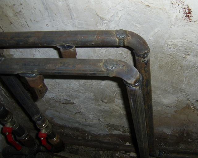 Технология сварки стальных труб отопления