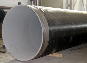 Труба стальная в вус цпп изоляции