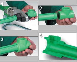Ручной инструмент для сварки труб